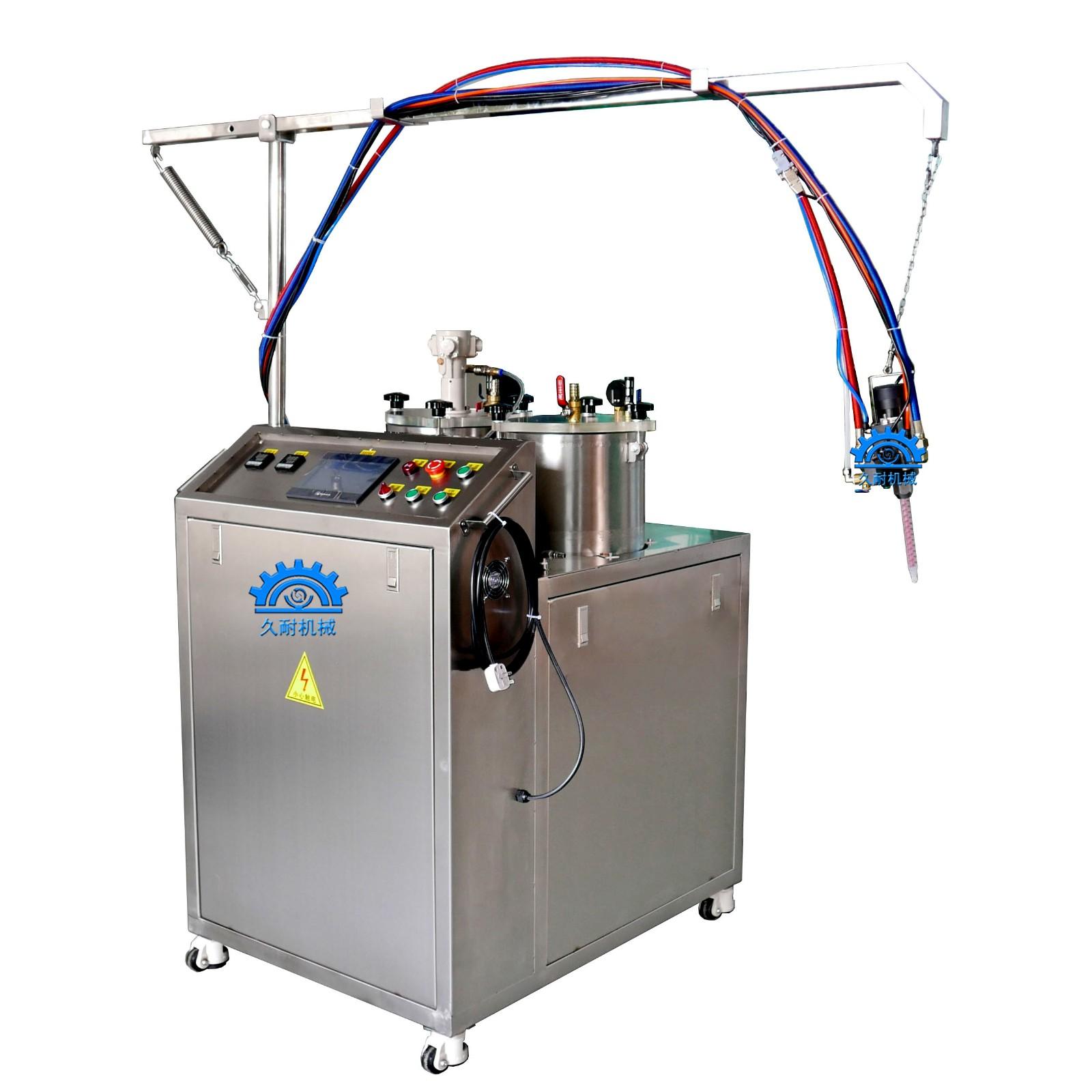 聚氨酯弹性体浇注机PU轮子胶辊灌注机