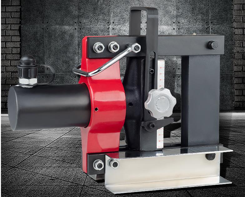液压弯排机使用方法 液压弯排机安装示意图