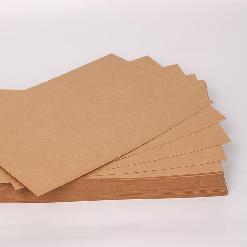 牛皮纸包装袋定制厂家 牛皮纸价格多少钱一吨