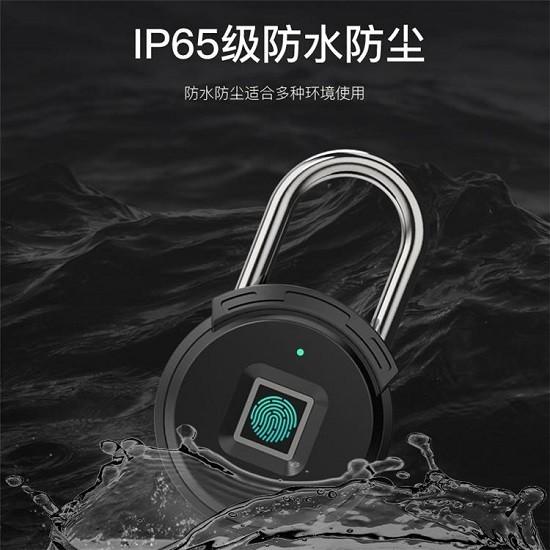 智能指纹挂锁生产厂家 智能指纹挂锁价格
