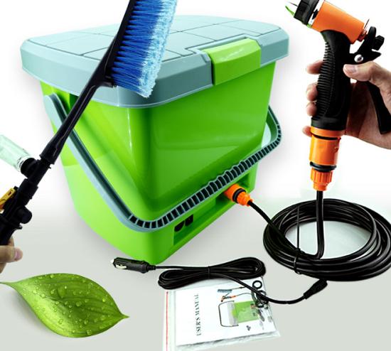 车载方便式洗车器 便携式多功能洗车器