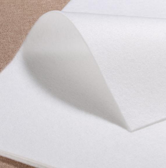 白色针刺棉生产工厂 白色针刺棉厂家价格