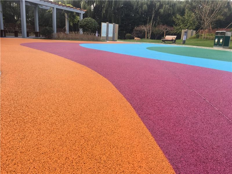 彩色地坪多少钱一平方 彩色地坪厂家