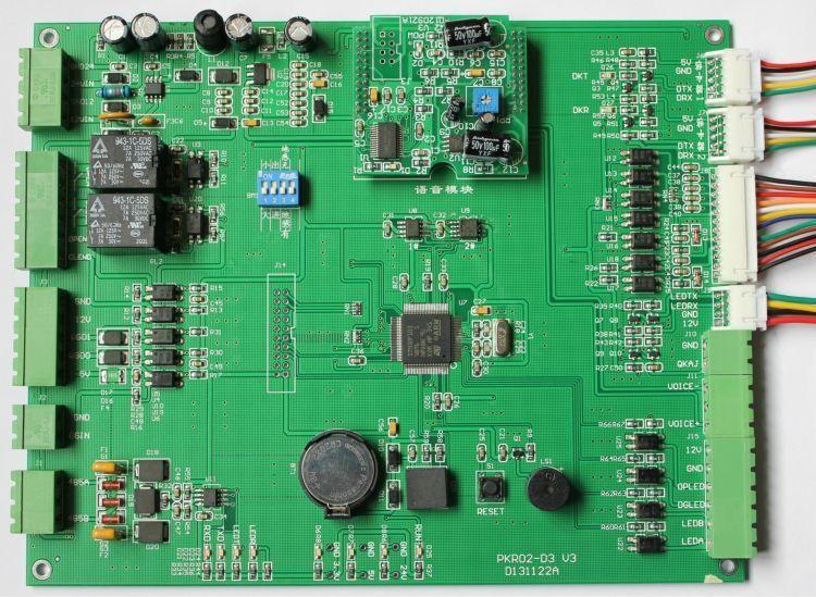 标准停车场控制板最低价 停车场直插式控制主板出售价