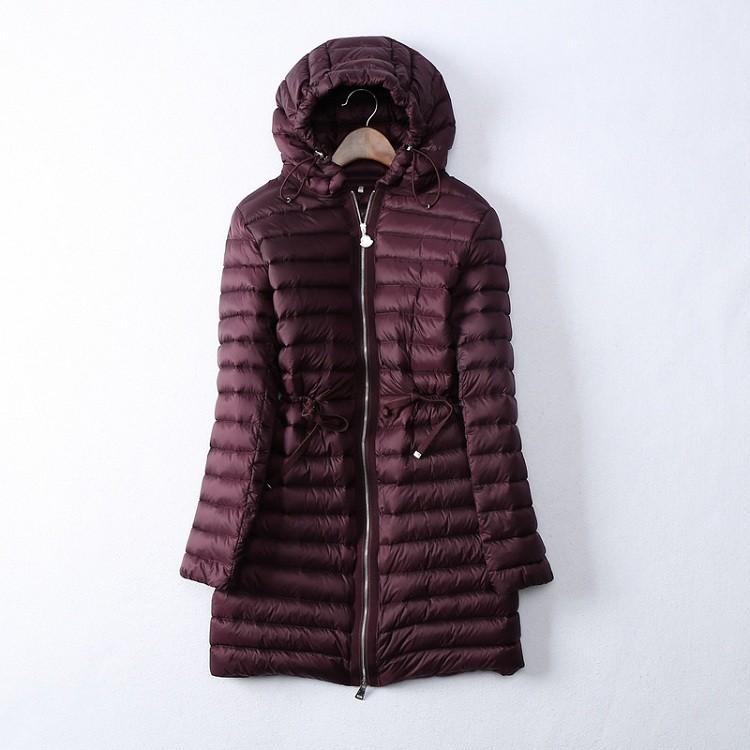 冬季中长款女士羽绒服批发 冬季中长款女士羽绒服厂家直供