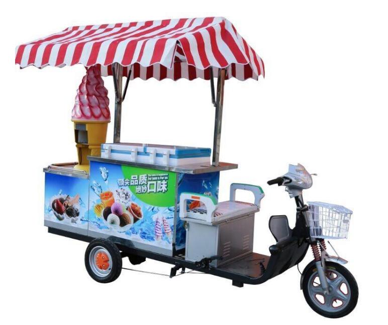 流动冰激凌车要多少钱 流动冰激凌车多少钱一辆