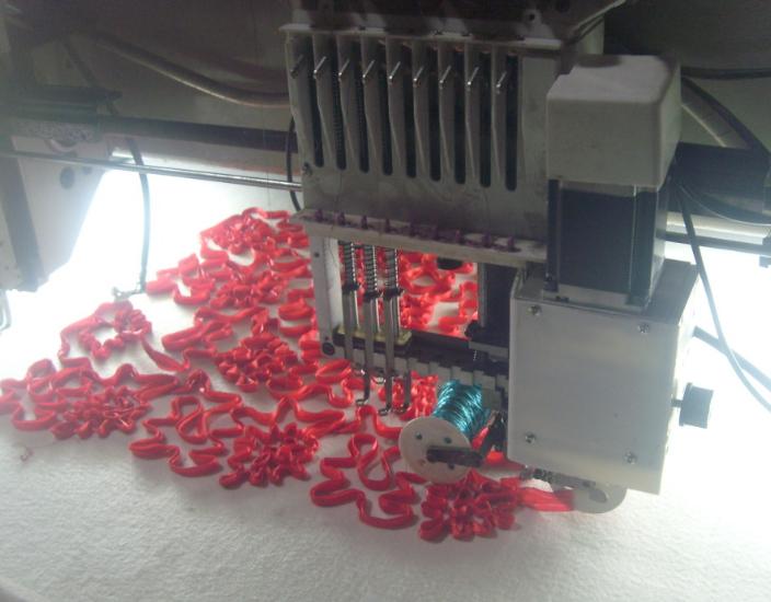 绳绣刺绣图片 绳绣装置批发价格