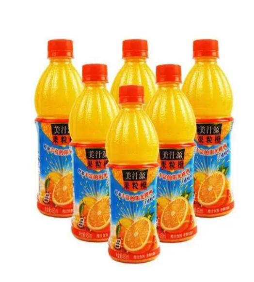 美汁源果粒橙价格多少钱一瓶 美汁源果粒橙价格单价