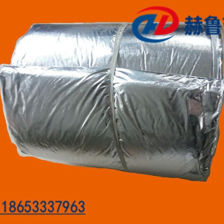 覆铝箔陶瓷纤维毯厂家批发 覆铝箔陶瓷纤维毯价格多少