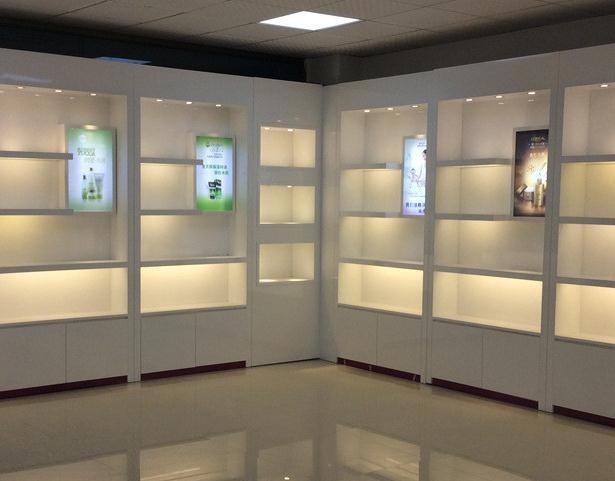 化妆品展示柜图片 化妆品展示柜定制厂家