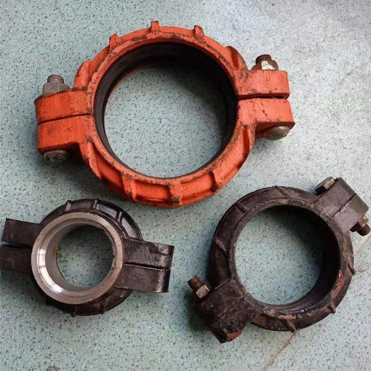 卡箍式柔性管接头厂家 卡箍式柔性管接头型号