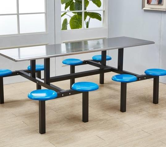 食堂餐桌尺寸规格 食堂餐桌椅批发