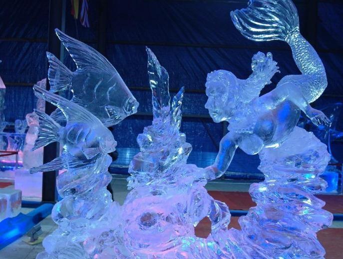 广州冰雕展厂家 广州冰雕展费用