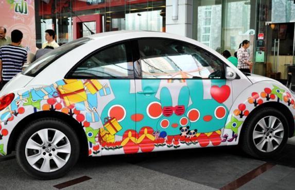 车身彩绘多少钱 车身彩绘图案多少钱
