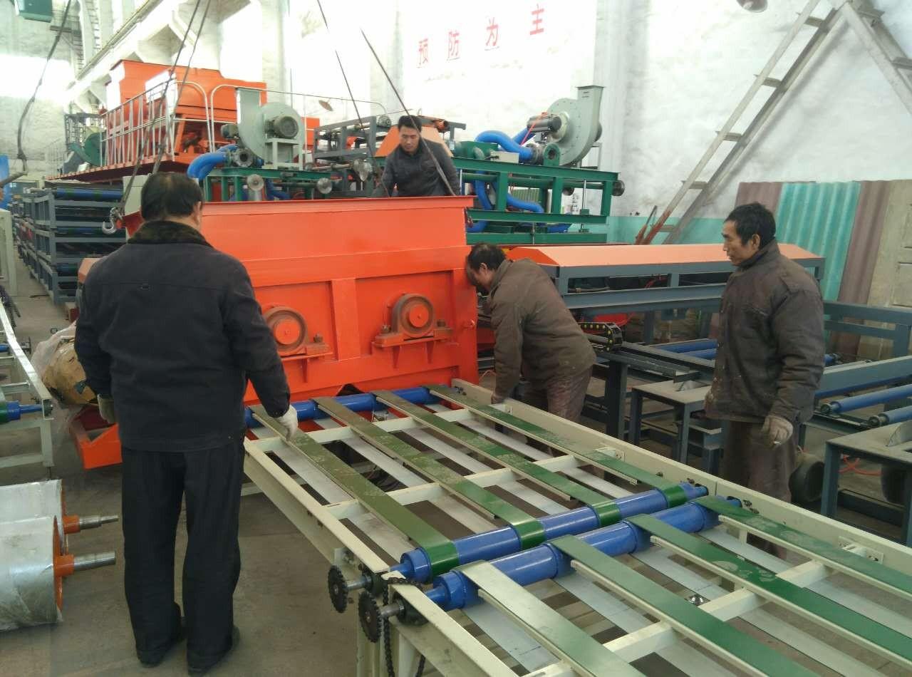 新型全自动水泥匀质板生产线