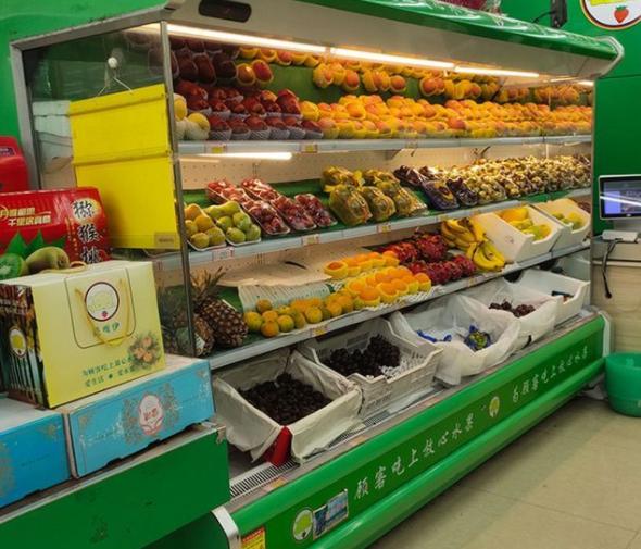 水果风幕柜生产厂家 水果风幕柜批发价格