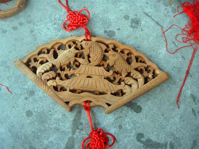 上海木雕挂件图片大全 上海木雕挂件价格