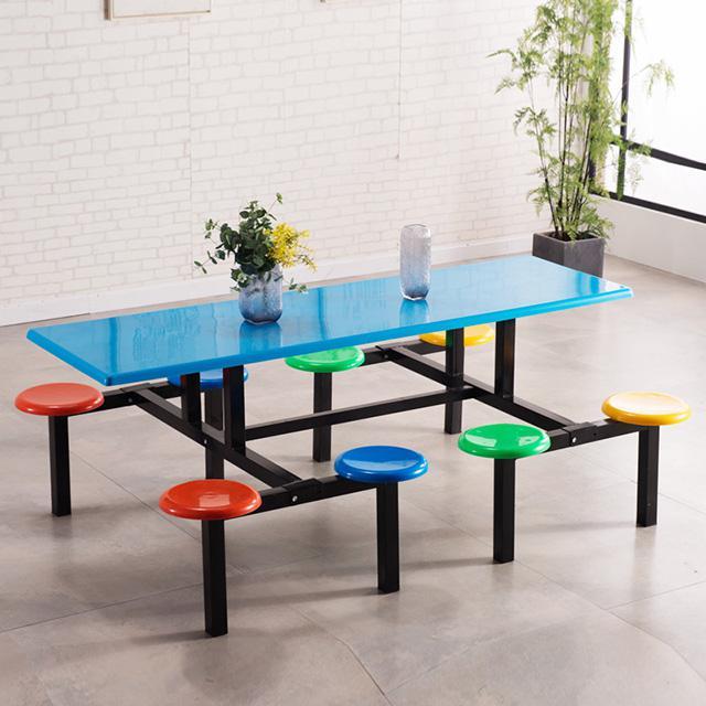 快餐桌椅定做厂家 快餐桌椅批发市场在哪里