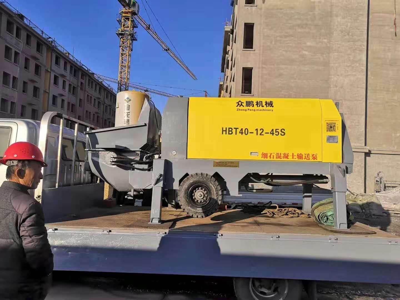 混凝土输送地泵型号规格 混凝土输送地泵价格