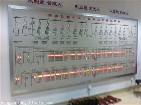 电力模拟屏生产厂家 电力模拟屏价格