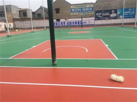 塑胶篮球场施工厂家 塑胶篮球场施工报价