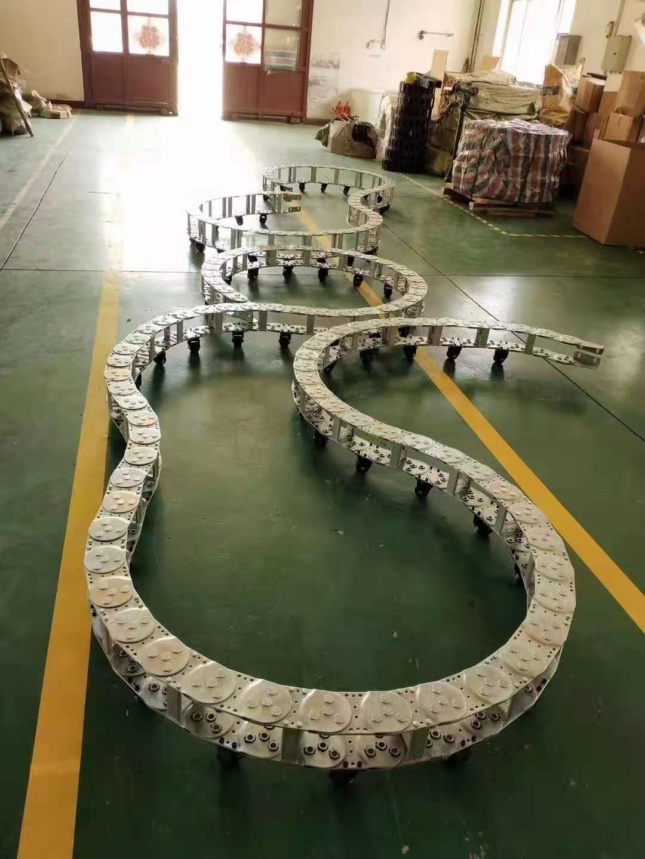 钢制拖链型号规格 钢制拖链厂家