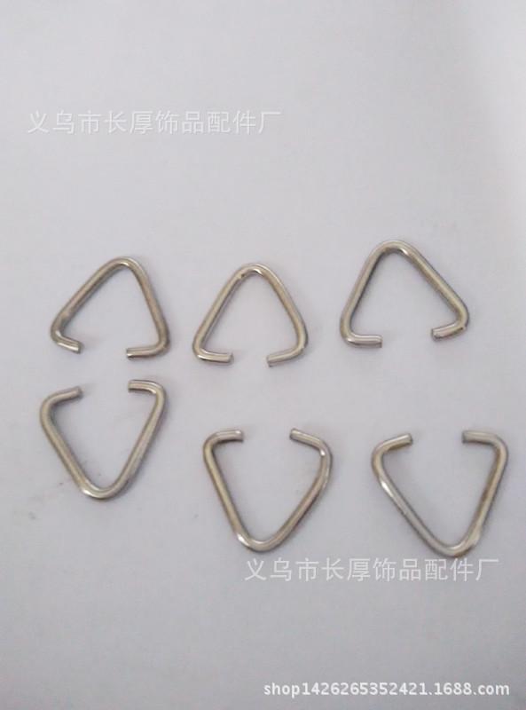 义乌厂家长期生产五金箱包三角扣  五金鞋扣 三角环  质优价低