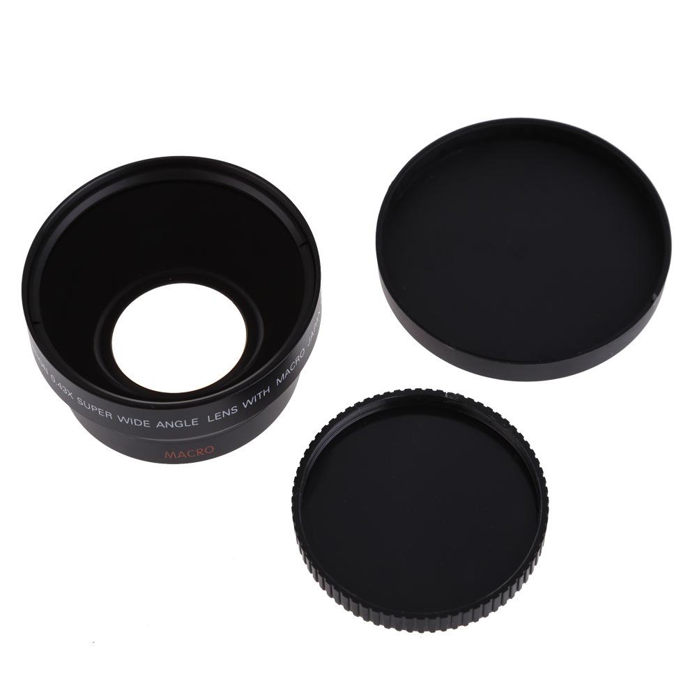 67mm 0.43X 0.43倍广角镜头 微距镜头 适用佳能18-135 尼康18-105
