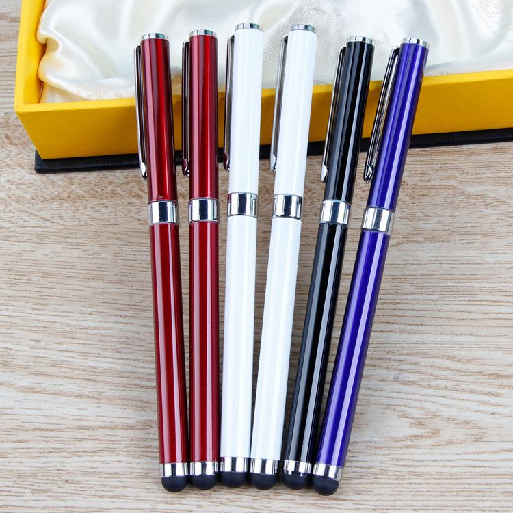 中性电容笔 金属礼品手写笔 商务签字广告笔 水性笔定制logo