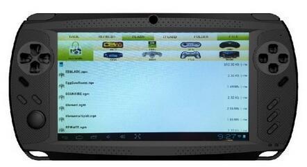 安卓双核7寸平板智能游戏机psp双摄像头