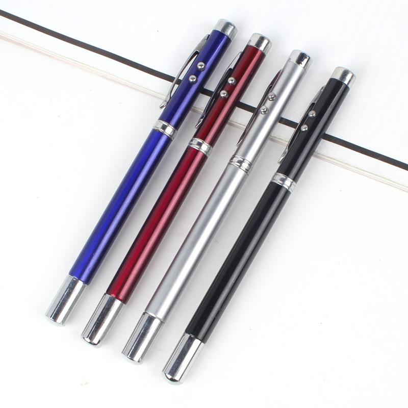 爆款金属多用手写笔 多功能电镀触屏笔 激光电容笔